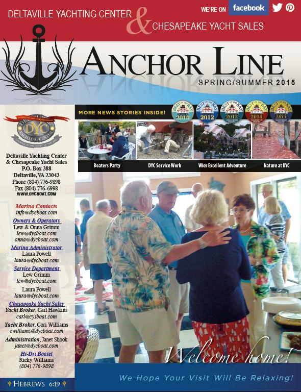 DYC Anchor Line 2015 Spring Summer