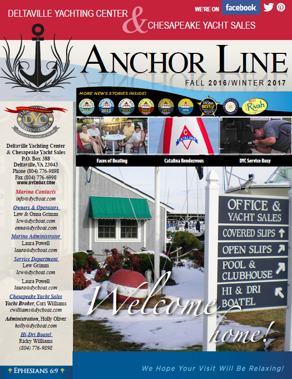 DYC Anchor Line Spring / Summer 2016